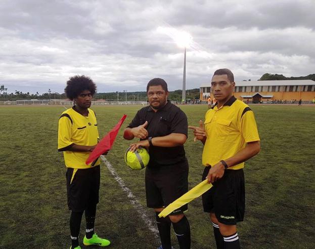 Photos : Comité Provincial de Football des Iles Loyauté – Albert Xalite (Président).