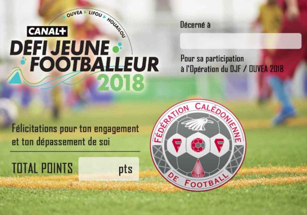 Le Défi du Jeune Footballeur Canal +, ici à Voh en décembre dernier (photo : C+ Calédonie).