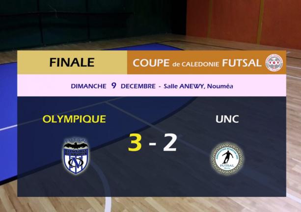 Finale de la Coupe de Calédonie Futsal 2018