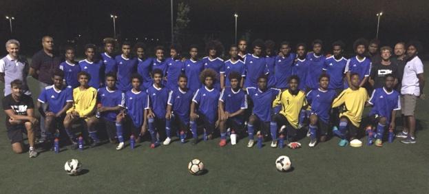 La FFF 'en appui' du football calédonien / FCF