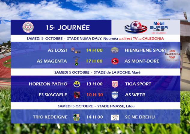 Après le Mont-Dore en Coupe... HIENGHENE veut franchir l'obstacle LOSSI / MOBIL SUPER LIGUE J15