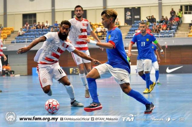 La Malaisie trop forte pour les cagous (1-6) / Préparation Coupe des Nations FUTSAL