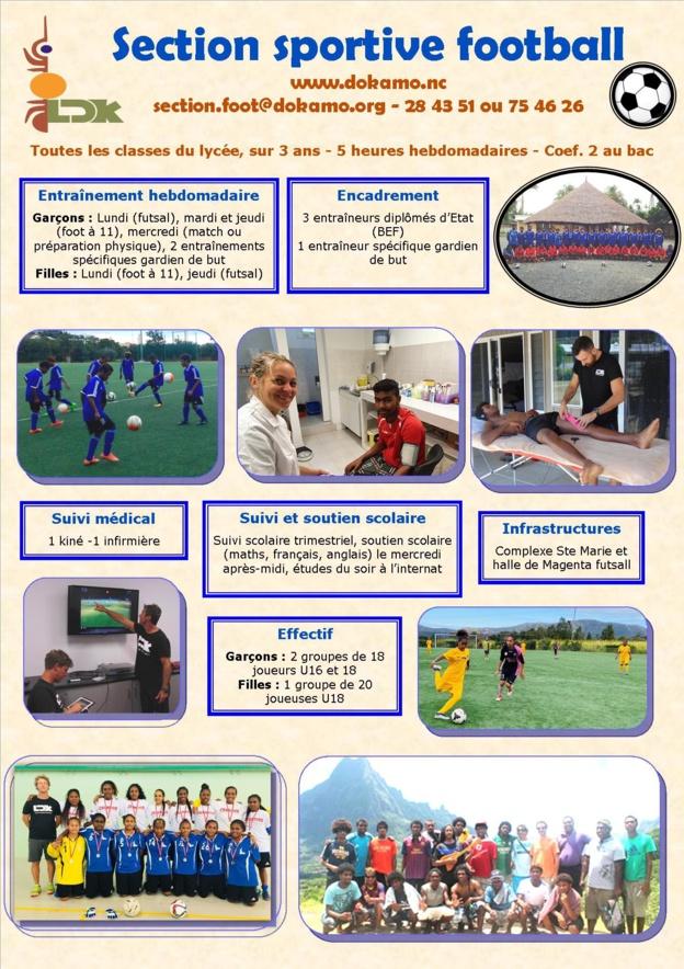 Sections Sportives et Scolaires Football - Rentrée 2021