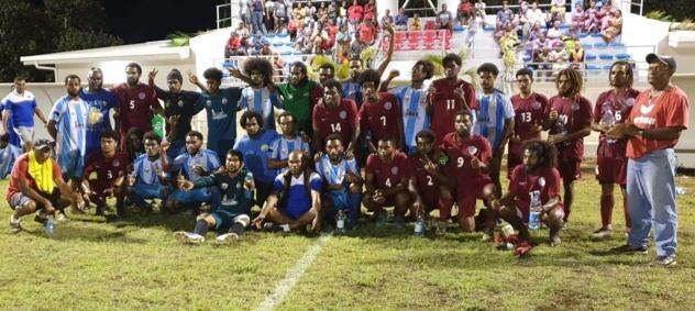 Yaté inaugure son stade par un triplé de Roine / Match de préparation