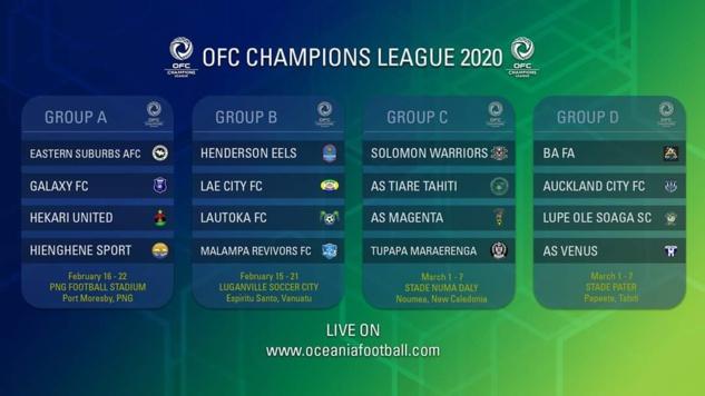 HIENGHENE remet son titre en jeu / Champions League OFC 2020 (coup d'envoi dimanche)