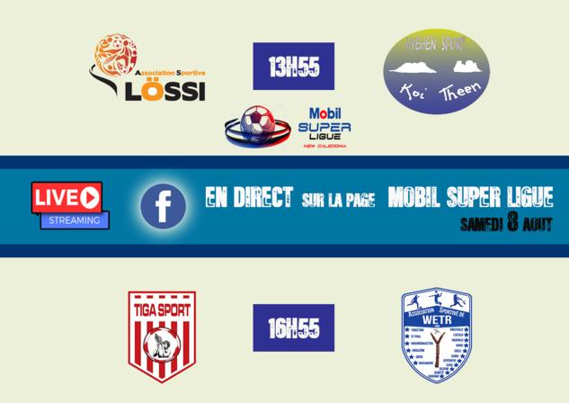 De belles affiches en perspective / Mobil Super Ligue - Journée 4 / LIVE VIDEO WEB
