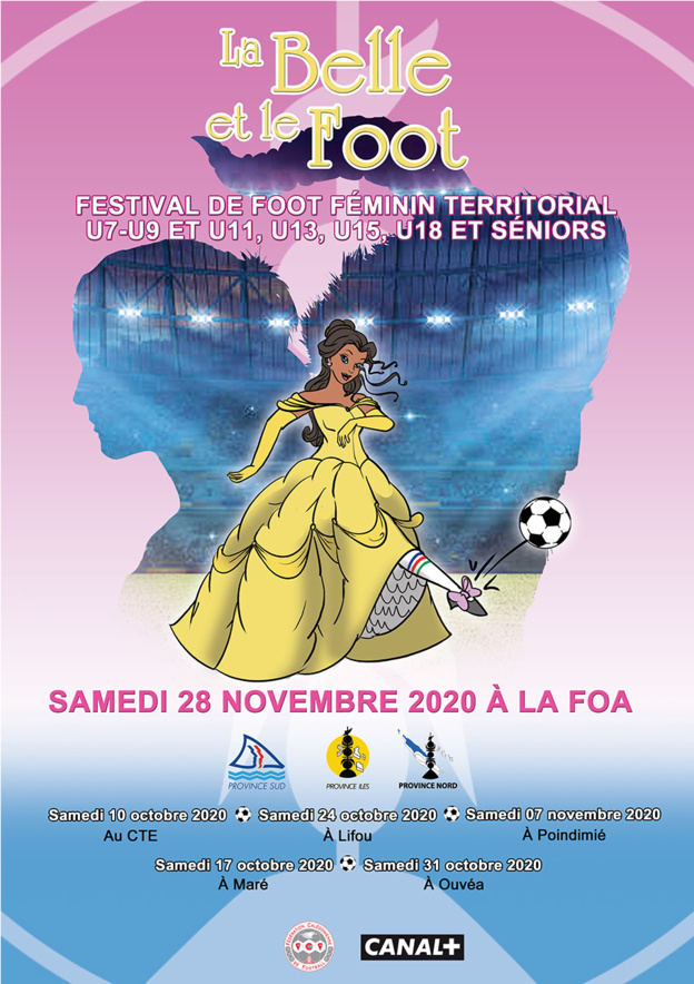 """Le Festival Féminin """" La Belle et le Foot """" a débuté ce samedi / FCF (Photos)"""