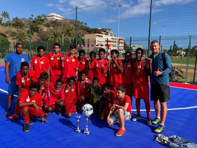 Les Minimes garçons d'Havila, eux aussi Champions de Calédonie. Photo : Havila