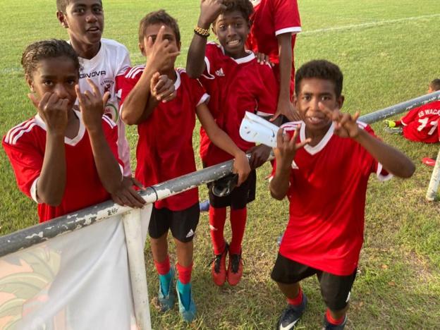 L'équipe de l'ES WACAELE a fait étalage de tout son talent, samedi dernier à BOULOUPARIS.