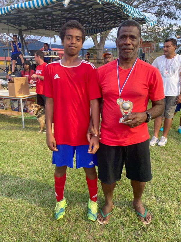 L'entente QANONO Drehu Athletico Club : second du classement final.