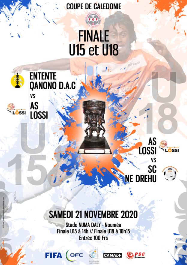 Lössi, l'Entente Qanono DAC et Ne Drehu parés pour les finales / Coupe de Calédonie U15 - U18