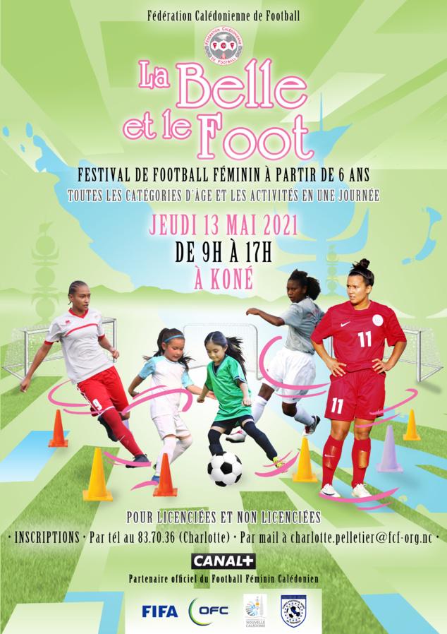 """C'est reparti pour le Festival """"La Belle et le Foot"""" / KONE (13 mai) - POINDIMIE (14 mai)"""