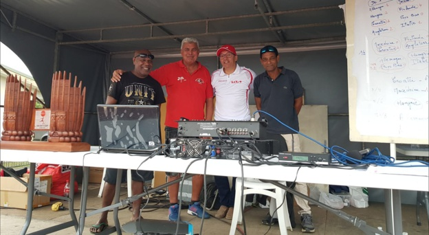 L'équipe de bénévoles-organisateurs mise en place par l'AS MONT-DORE,  au centre du dispositif de l'évènement Kia Kids Cup.
