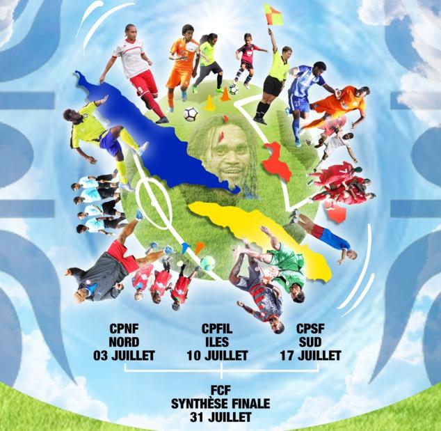 L'affiche officielle des 1ères Assises du Foot cagou.