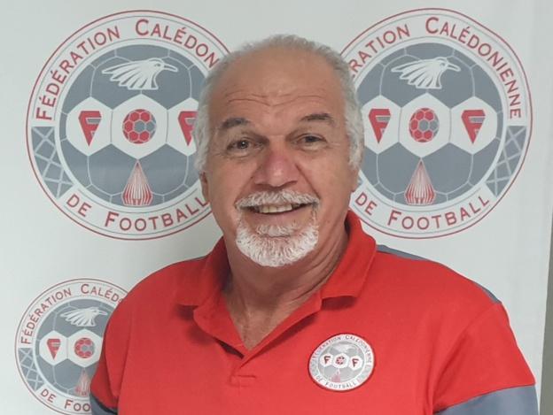 Gilles TAVERGEUX - Président de la Fédération Calédonienne de Football.