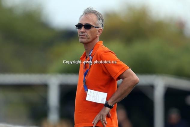 Stéphane DRAHUSAK, ici en Champions League OFC avec l'équipe de l'AS LÖSSI. C'était en 2016 du côté d'Auckland. Crédit Photo : Phototek.nz