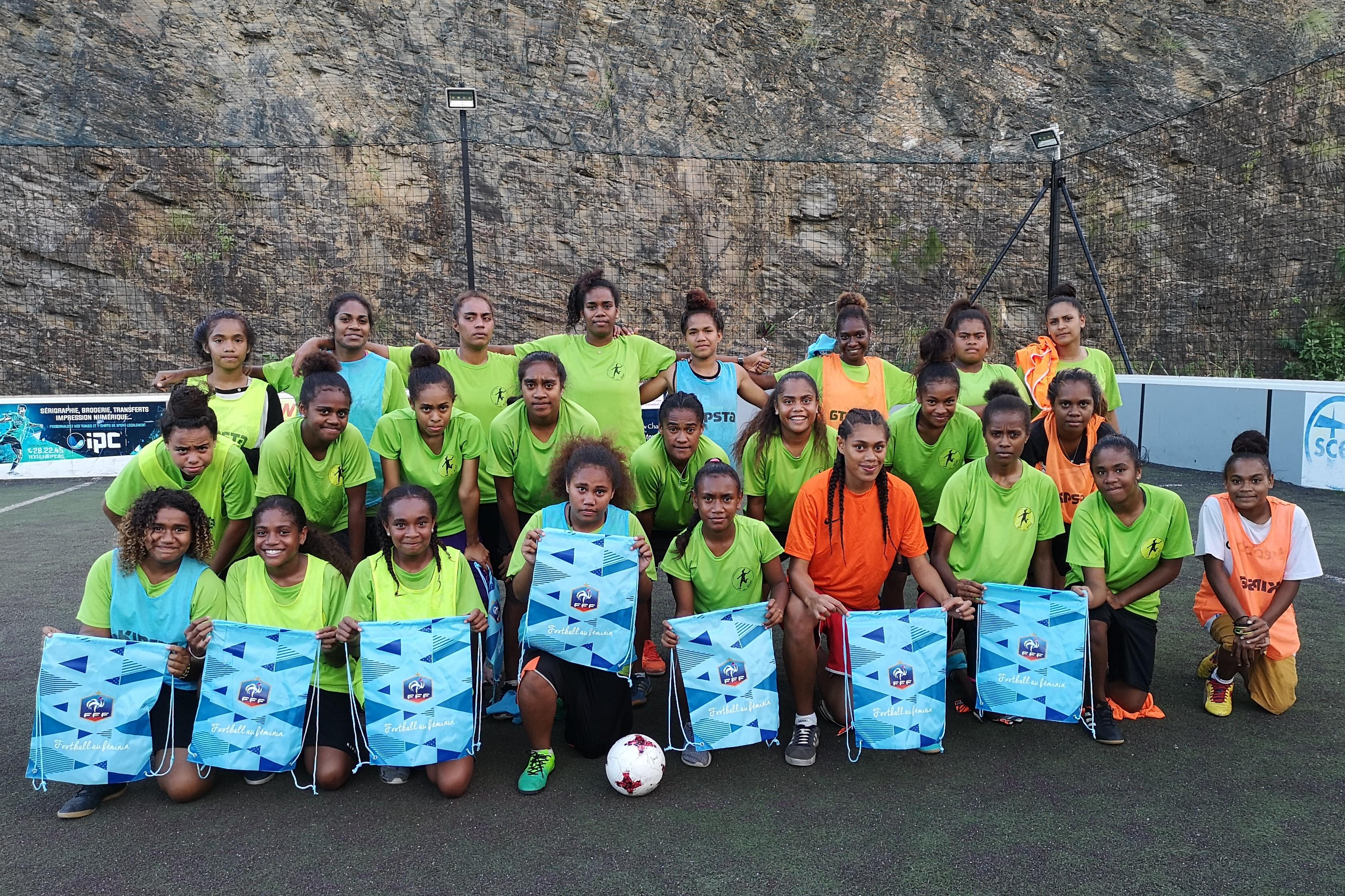 Les filles à l'honneur / Journée promotionnelle du Football Féminin (mai 2019)