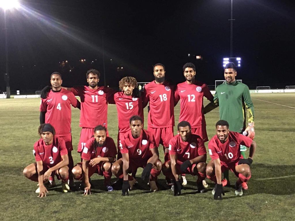 Les cagous remportent leur premier match amical / Sélection A