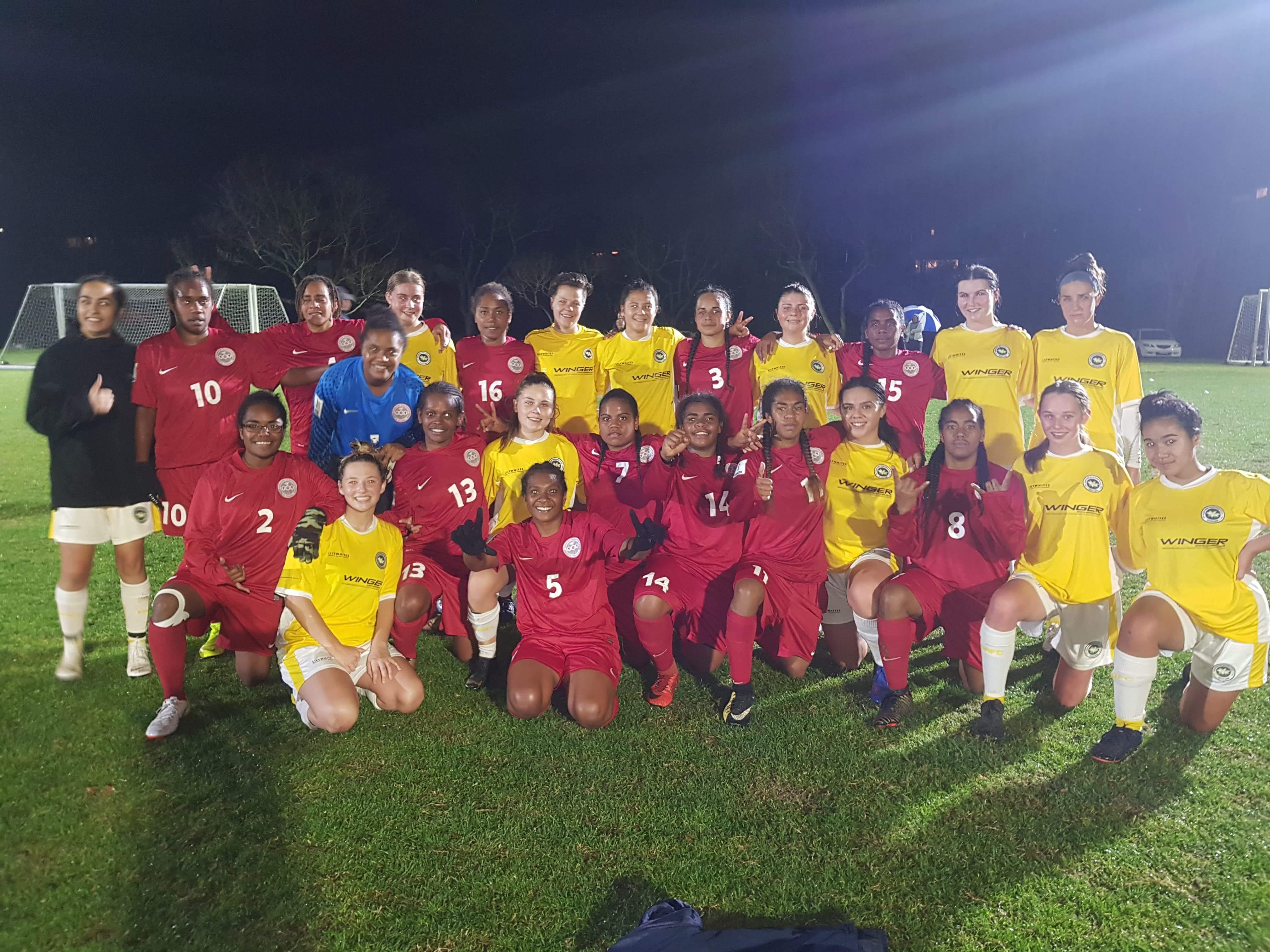 Les filles finissent bien leur tournée en Nouvelle-Zélande / Jeux du Pacifique