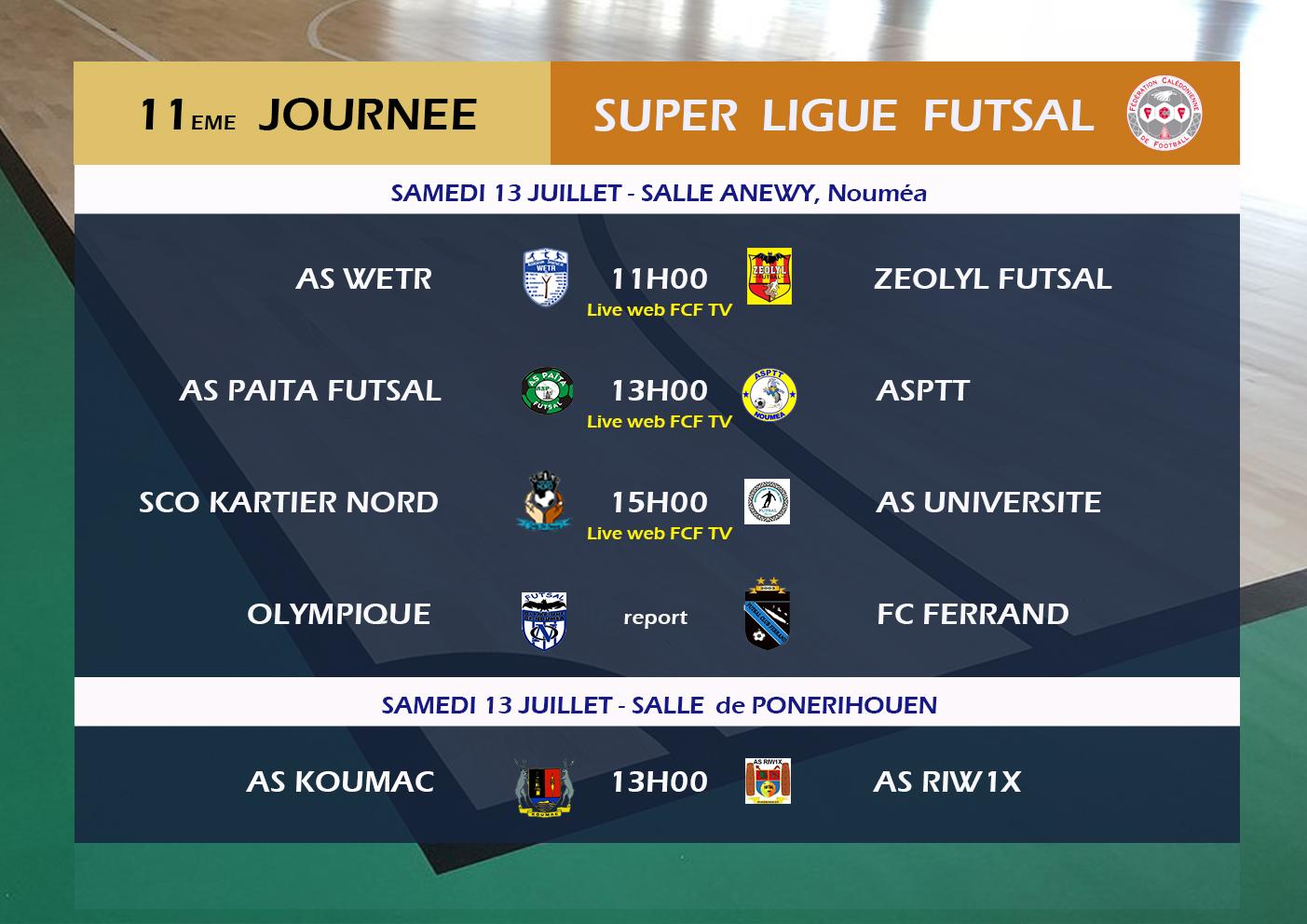 KARTIER NORD au service de la Jeunesse / LIVE Matchs TV web - FUTSAL