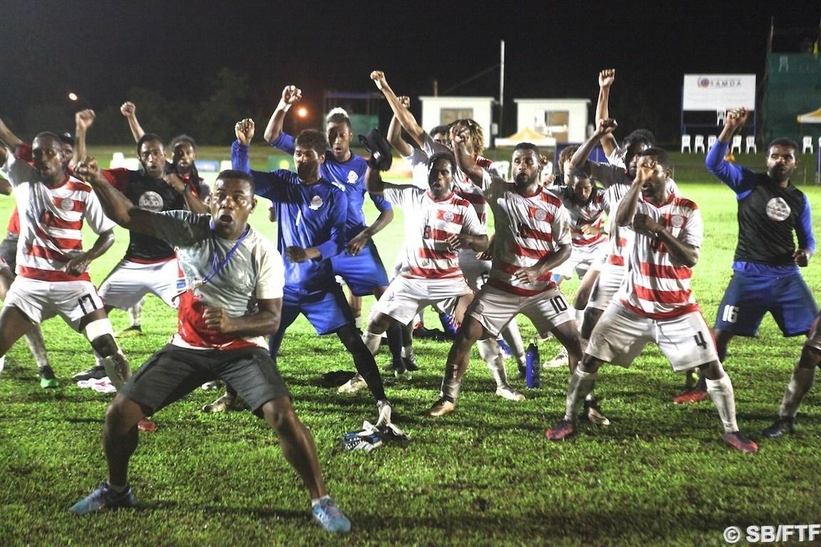 Battre Tuvalu pour s'assurer la grande finale / JEUX du PACIFIQUE
