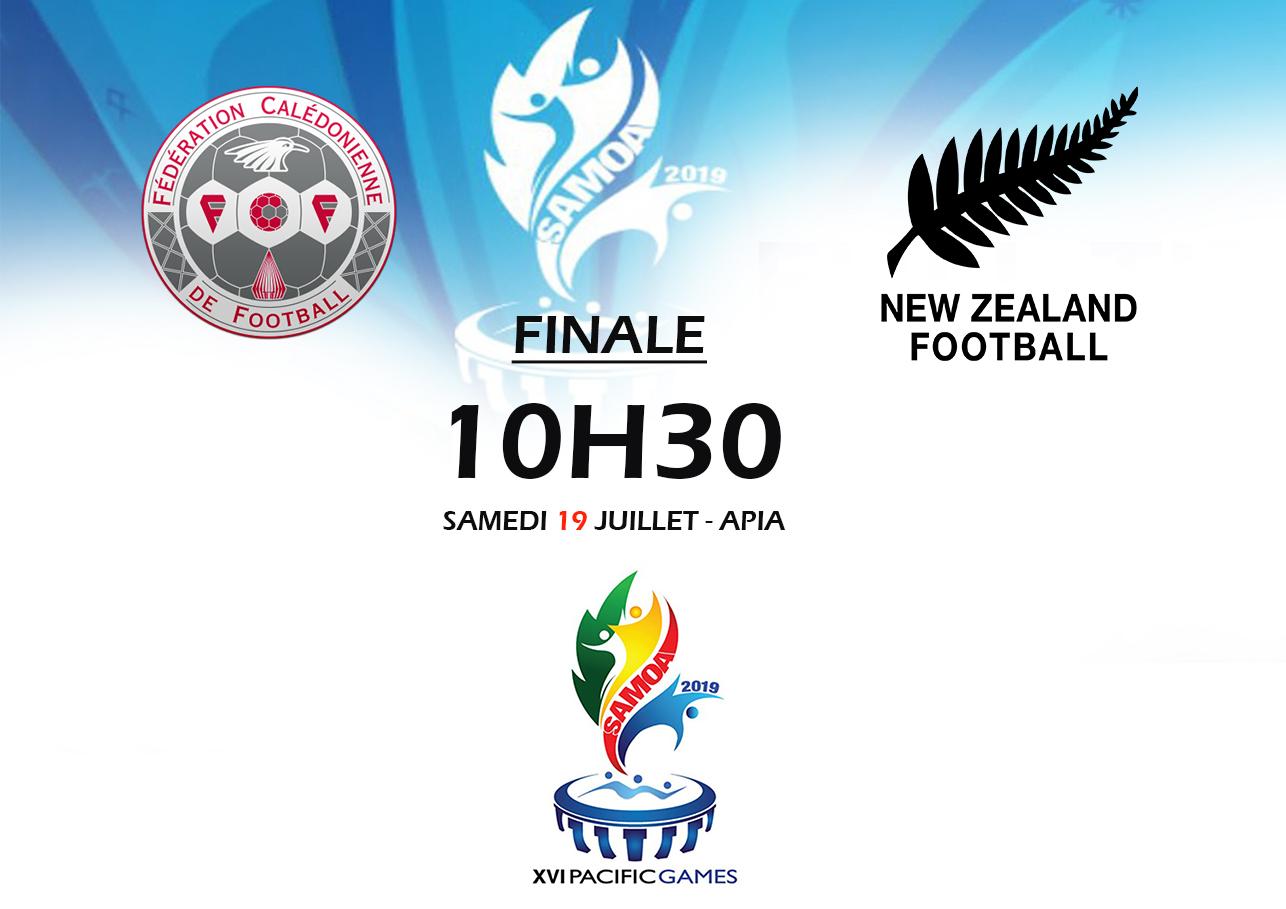 L'OR à portée de mains / FINALE Jeux du Pacifique (10h30, ce samedi)