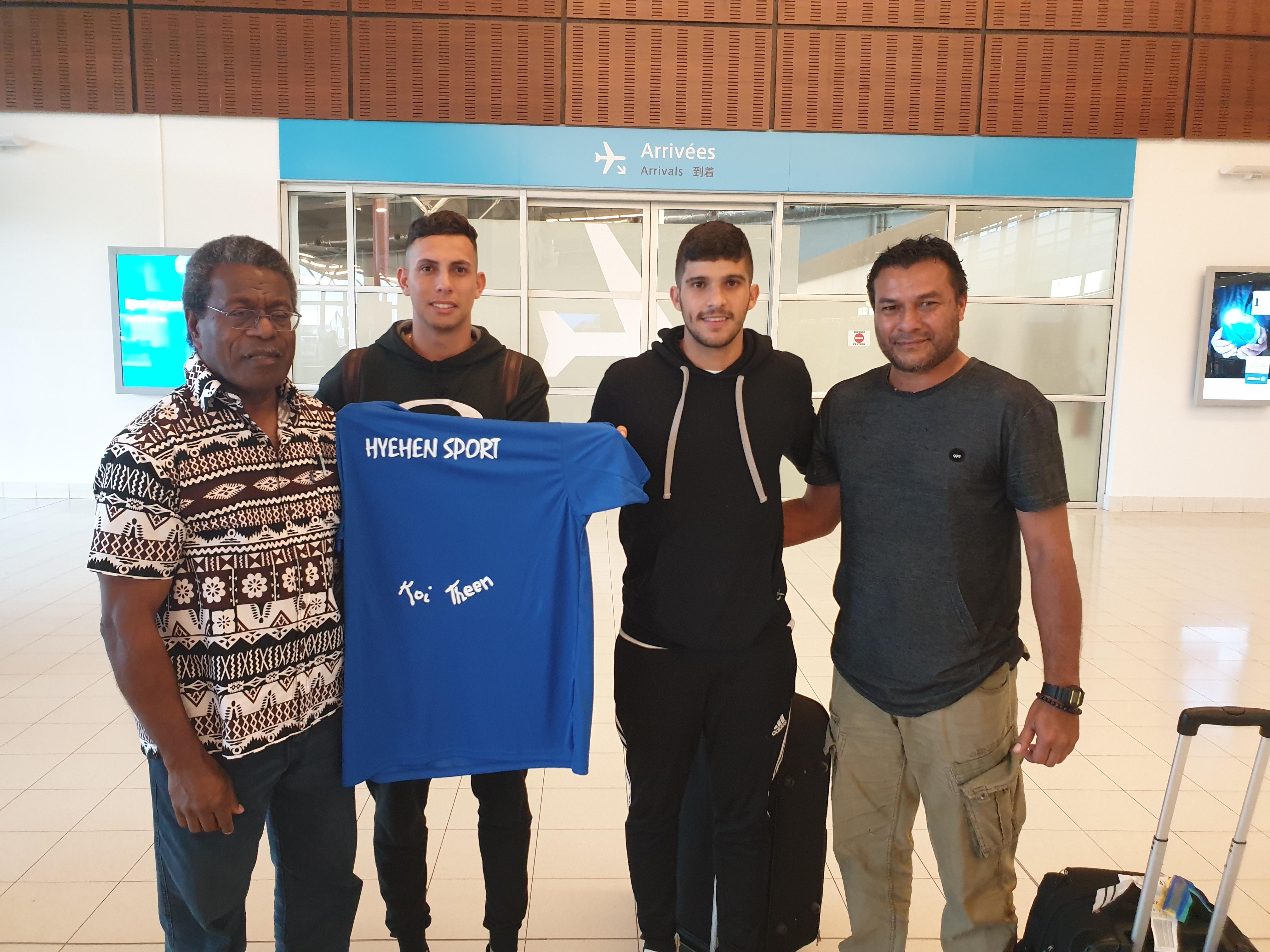 Un brésilien et un portugais rejoignent Hienghène Sport