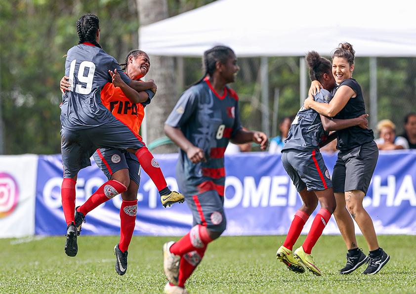 Les filles cagous filent en FINALE / Qualifications OFC - U19 Féminines