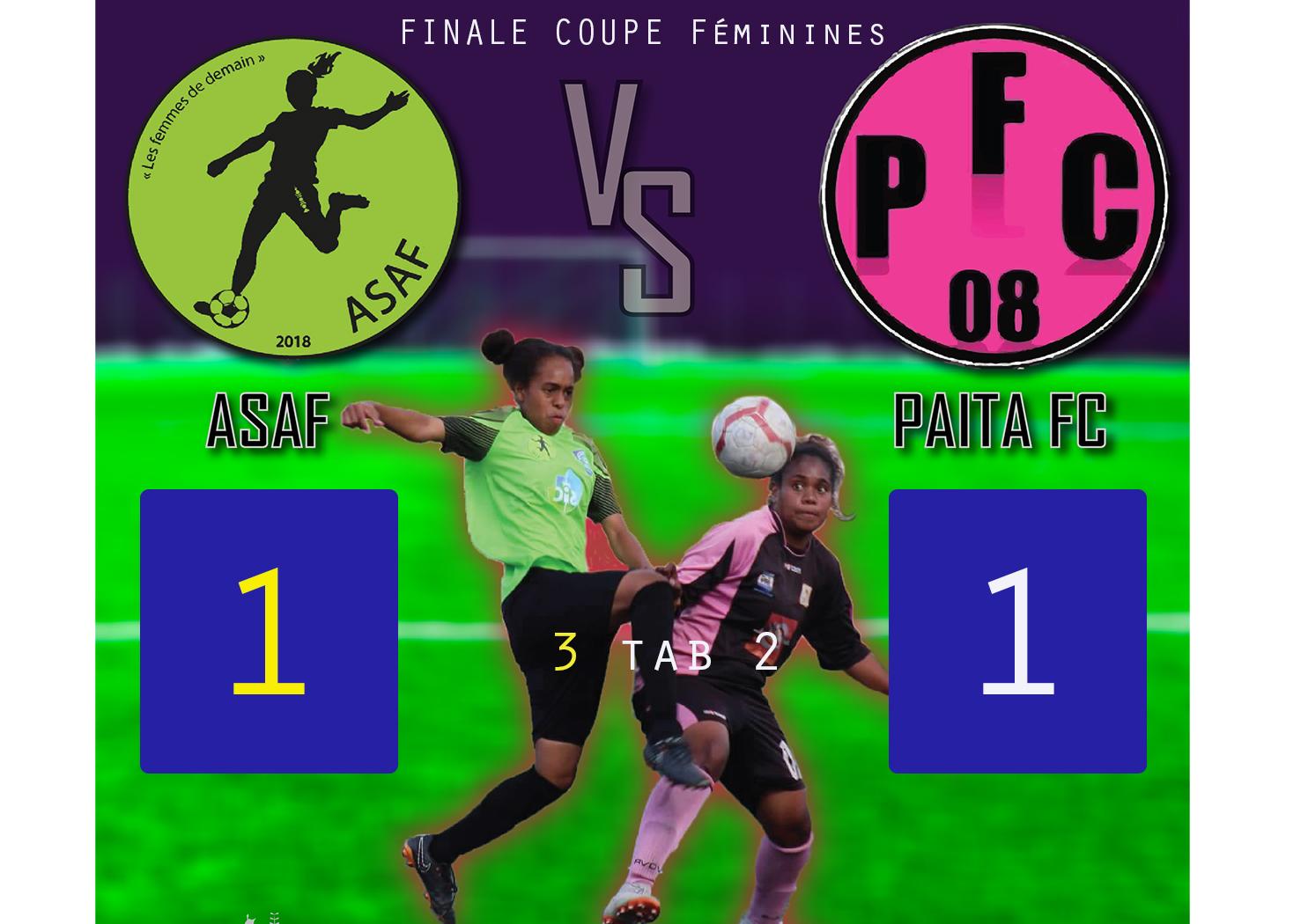 L'ASAF remporte la Coupe de Calédonie Féminines