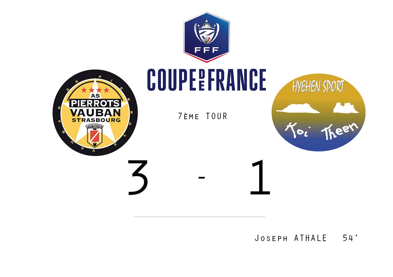 Vauban Strasbourg - HIENGHENE SPORT : 3 - 1 / Coupe de France