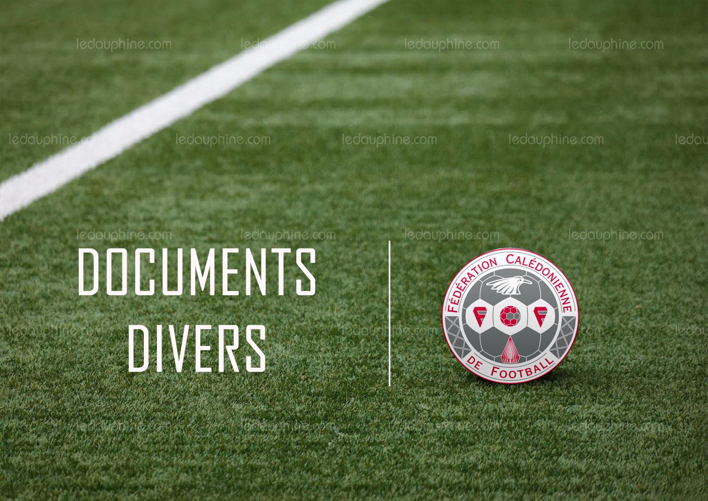 DOCUMENTS Divers : cliquez ICI