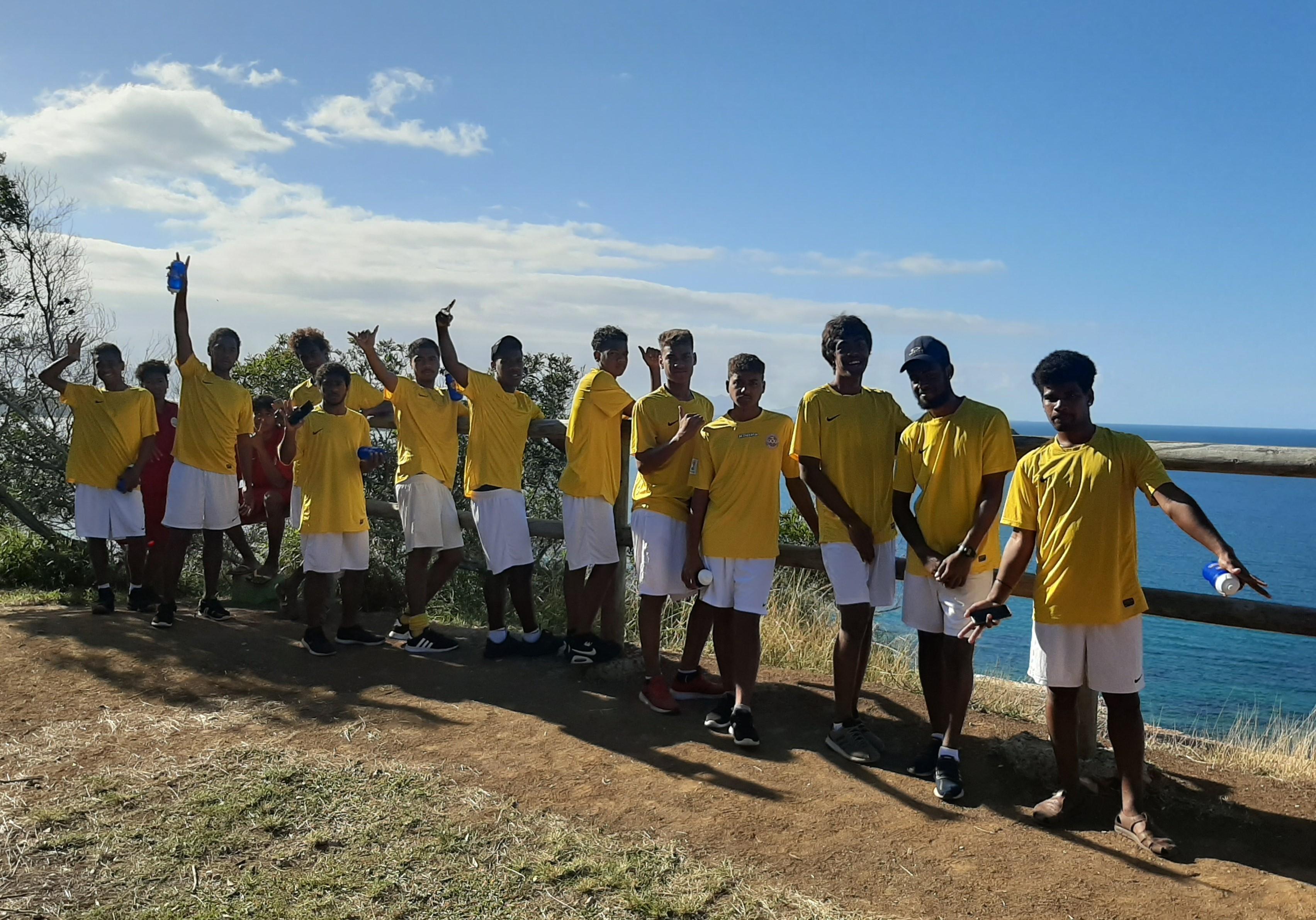Les U16 cagous : entre attente et préparation / Qualifications U16 OFC - Sélection U16