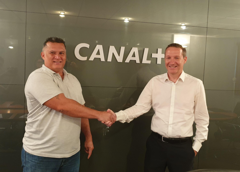 CANAL + soutient le football Féminin cagou