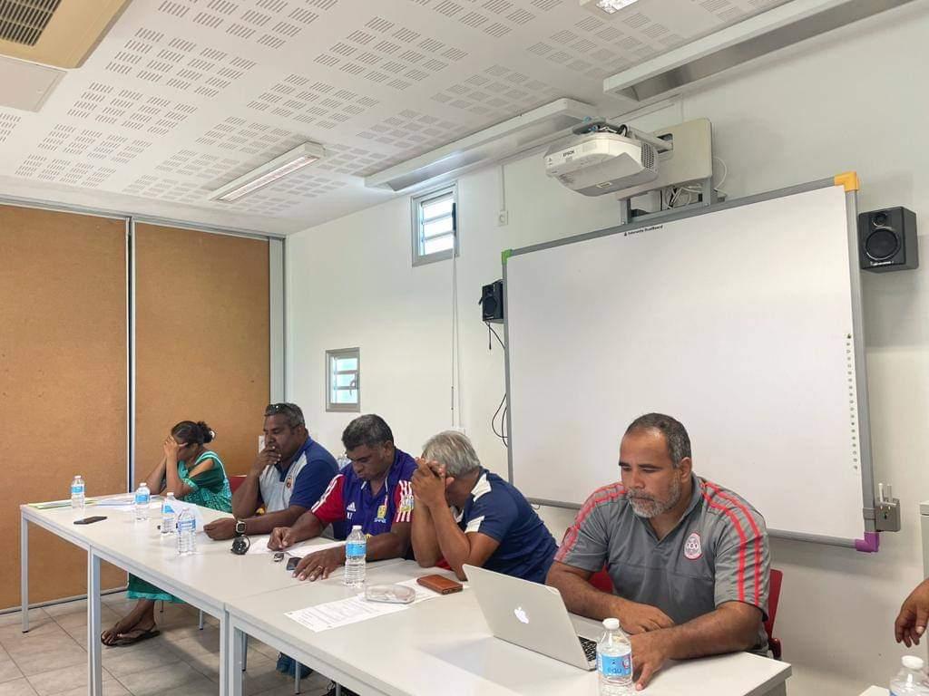 L'élection au Sud, notamment en présence des deux Vice-Présidents de la FCF (Noam TEIN et Marcel UNE) ainsi que du Secrétaire Générale FCF (Olivier DOKUNENGO), sera suivie de celles du Comité NORD le 27 février et du Comité ILES le 6 mars.