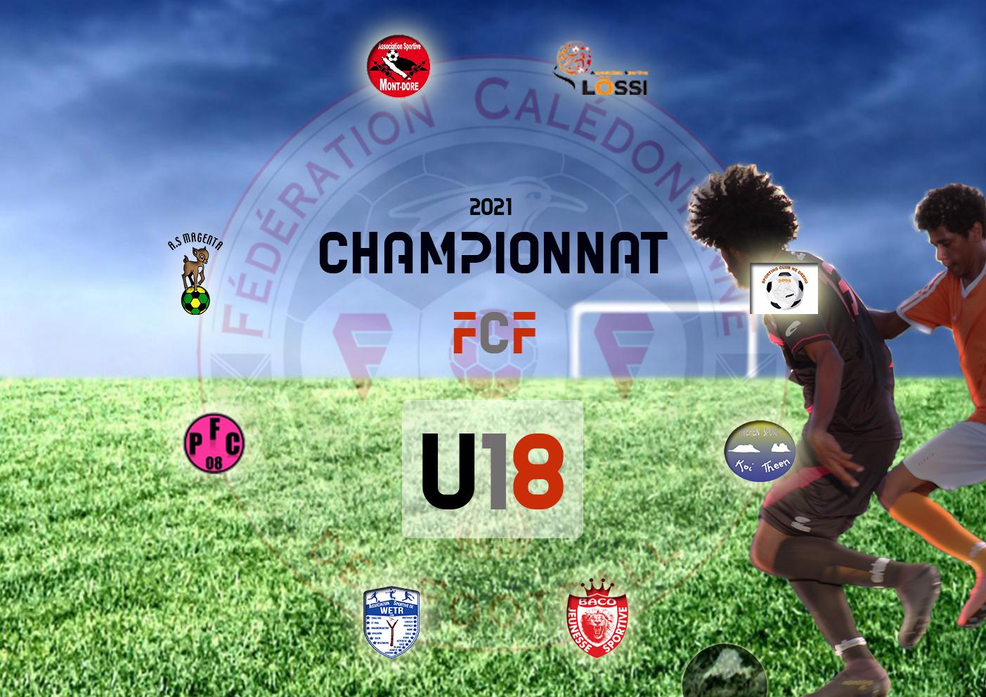 Visuel FCF (Photo joueur - Foot Nc)