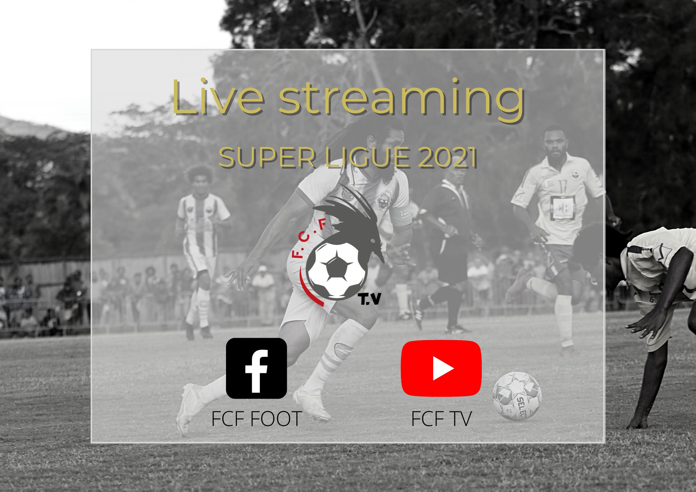 C'est reparti (ce samedi) pour les DIRECT WEB / FCF TV - Streaming Vidéo