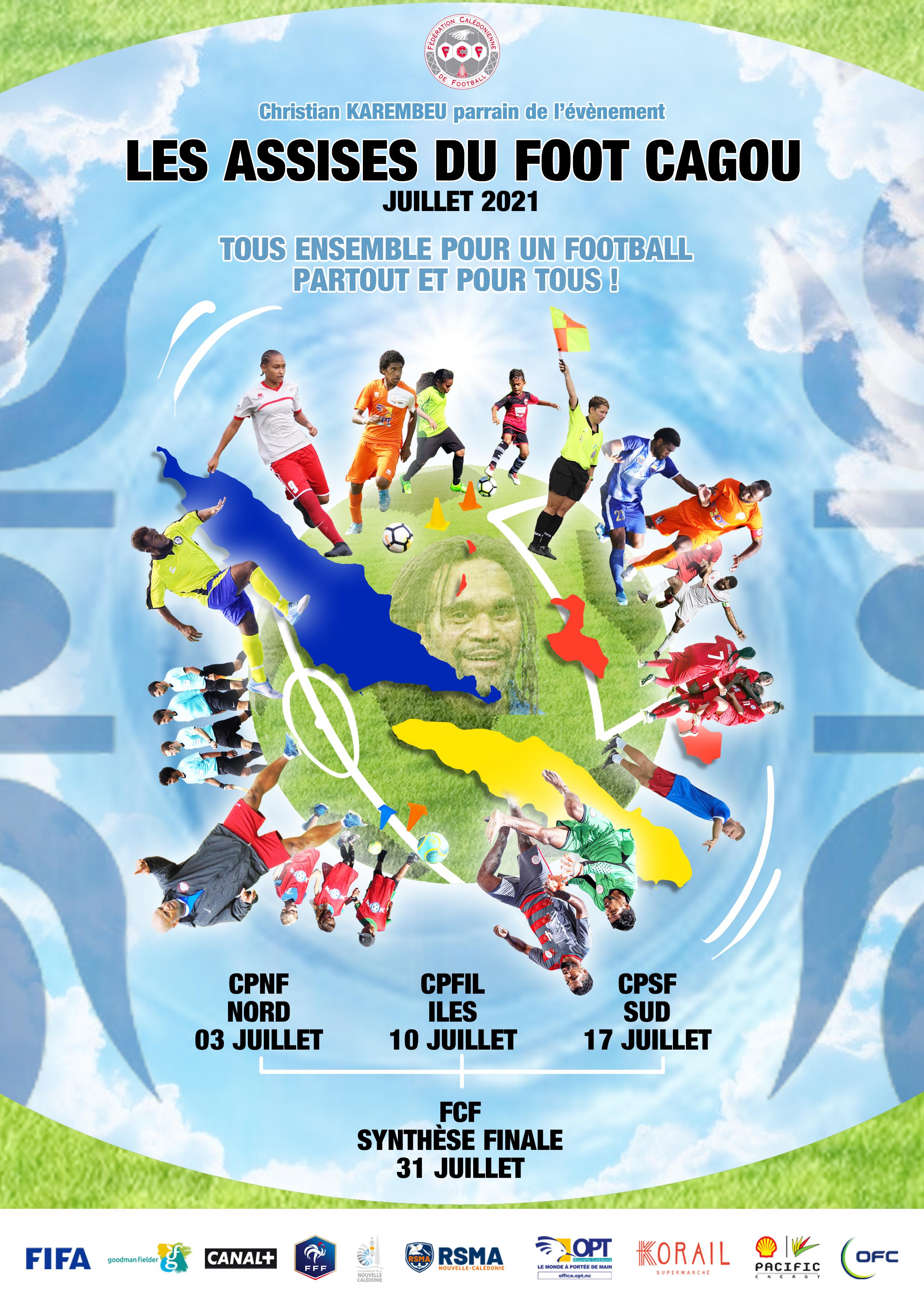 Les ASSISES du FOOT CAGOU : ça sera pour JUILLET / Fédération Calédonienne de Football
