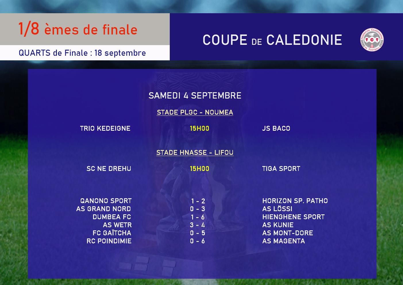 TRIO Kejëny : la COUPE pour briller, avant les 60 ans / Huitièmes de finale : TRIO vs BACO (ce samedi - 15h00 à PLGC)