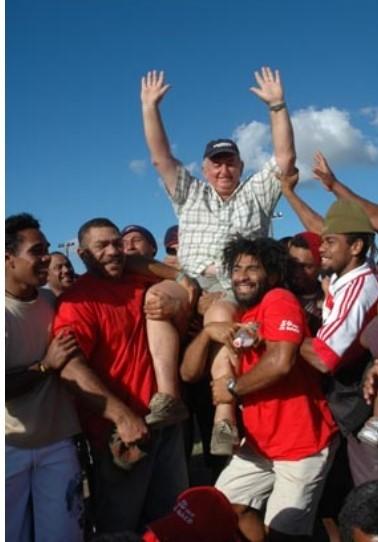 La saison 2006/2007 marque le dernier titre obtenu par la Jihesse. Porté en triomphe par ses joueurs, le Président Marck LEONARD a marqué l'histoire du football calédonien.
