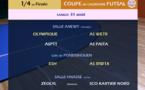 Quarts de finale FUTSAL / Tirage + Programme SUPER LIGUE J12
