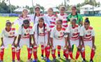 Laëtitia LEME (en haut, 1ère en partant de la gauche) et Jackie PAHOA (en haut, 3ème en partant de la gauche) étaient de l'aventure avec la Sélection U19, aux Iles Cook en 2019, lors des Qualifications OFC. Les filles cagoues avaient atteint la finale, s'inclinant 5 à 2 face à la Nouvelle-Zélande.
