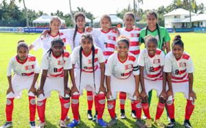 Les cagoues filent en demies / NC vs TONGA : 4 - 2 /  U19 Féminines