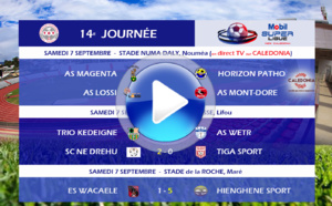 Mobil SUPER LIGUE J14 / Résumés VIDEOS