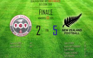 La médaille d'argent pour les cagoues / FINALE NC vs NZ (2 - 5)