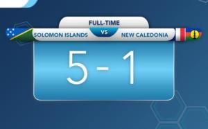 Les cagous stoppés en demies par les salomonais / Qualifications OFC Futsal (1 - 5)
