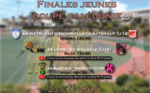 FINALES Jeunes à l'honneur en Coupe... Bis repetita chez les Féminines en championnat / Programme FINALES