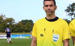 """ Impatients de commencer "" / INTERVIEW avec l'Arbitre Bertrand BRIAL / Champions League OFC, groupe D (Tahiti)"