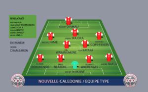 """"""" EQUIPE TYPE / Légendes """" de Nouvelle-Calédonie"""