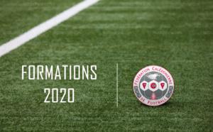 Le nouveau programme (prévisionnel) des FORMATIONS 2020 / Direction Technique FCF