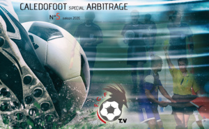 CALEDOFOOT n°5 : plateau TV spécial ARBITRAGE / VIDEO